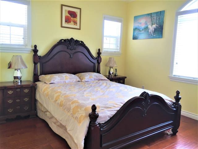Bright room with private bathroom套房 - Rosemead - Dom