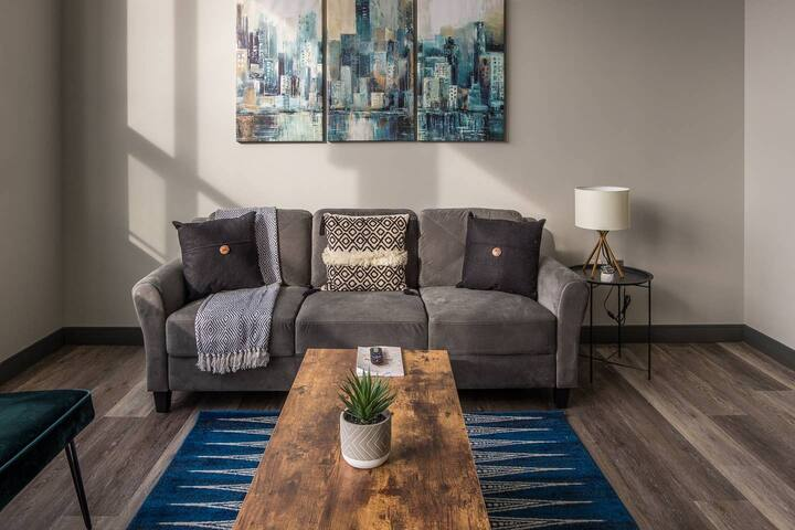 Relaxing 1BR Apt in Downtown