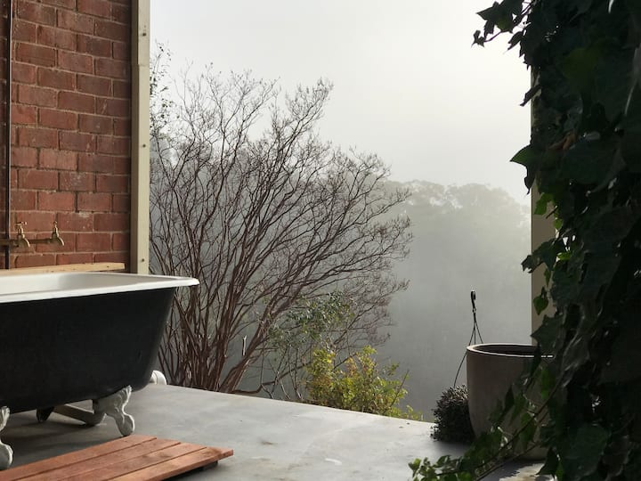 Ode to the Orchard •  outdoor bath, stunning views