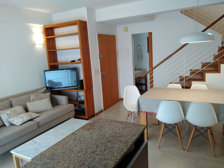 Bright 2 bedroom furnished family duplex apartment