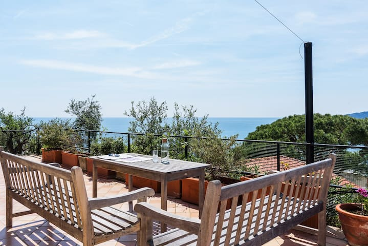 Azzurro Giuliana - Panoramic view with A.C. & WiFi