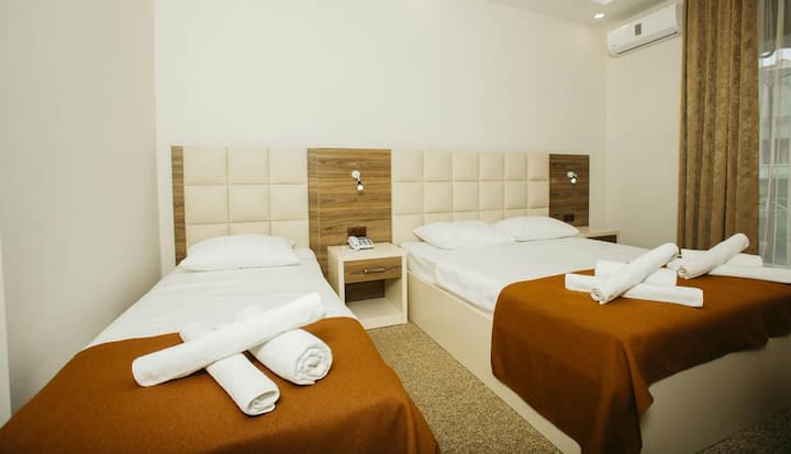 Perfect room to choose for a family vacation in Batumi