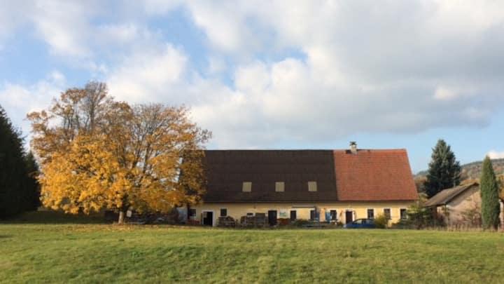 3 persoons kamer in een oude boerderij