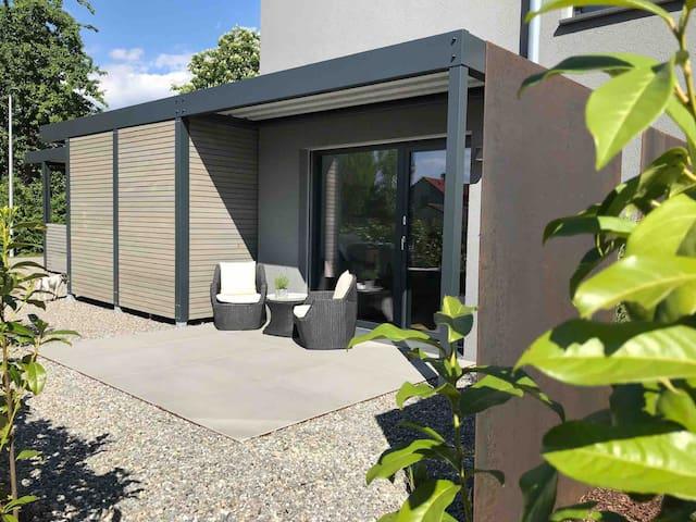 Appartement in Bodenseenähe! Modern mit Terrasse!