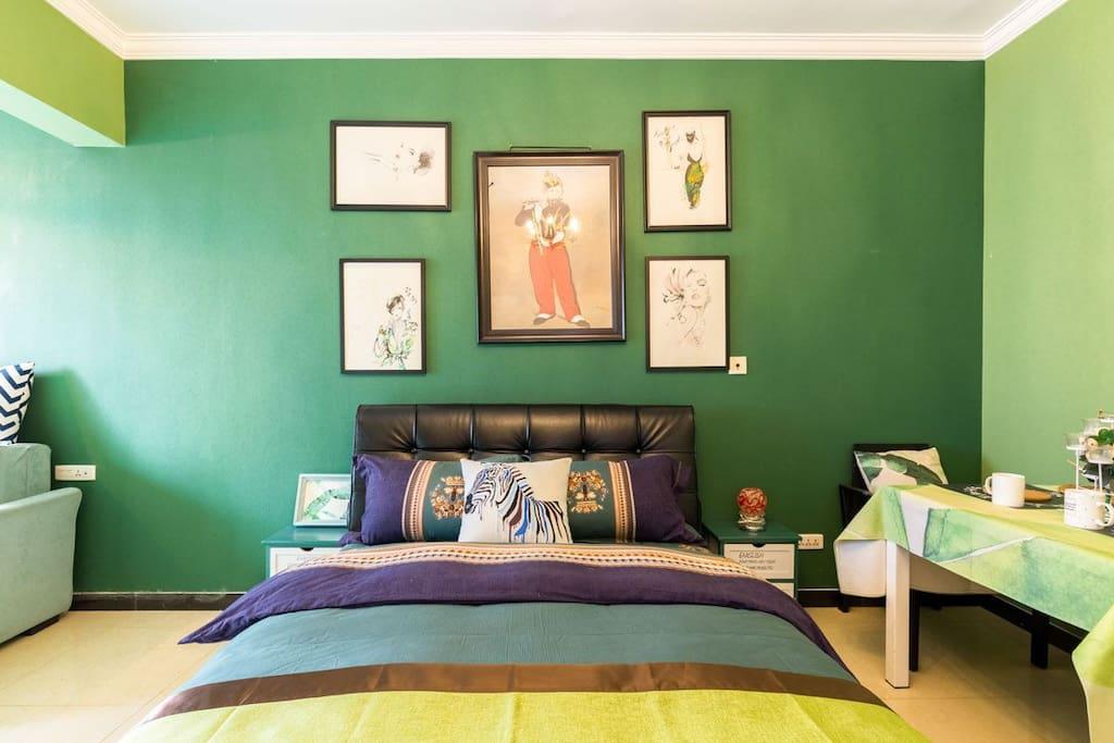 马奈的艺术空间——大床房