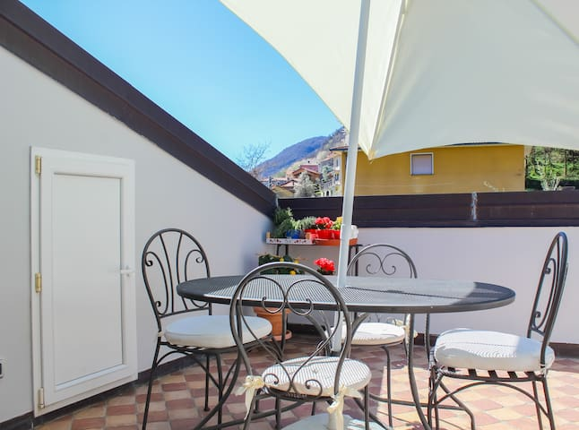 If you're looking for a lovely stay with the perfect terrace, here we are