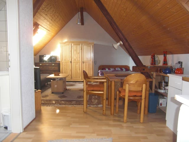 Quiet apartment in little village Guenterfuerst