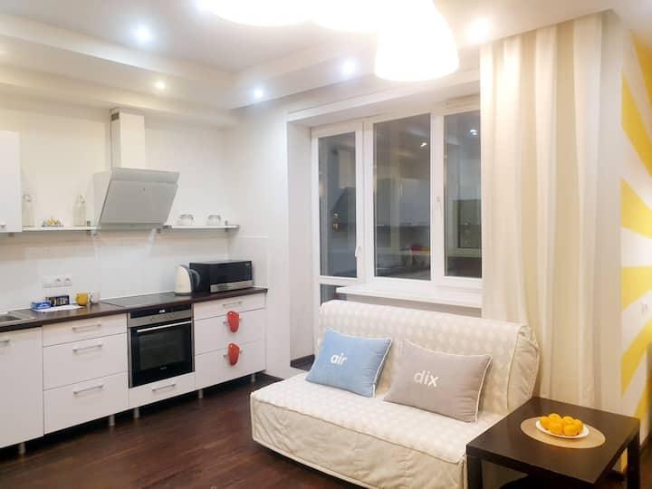 Апартаменты в ЖК Подсолнухи 10-15 минут до центра