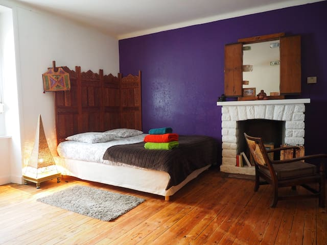 Chambre privée en centre ville.(1) - Concarneau - Bed & Breakfast