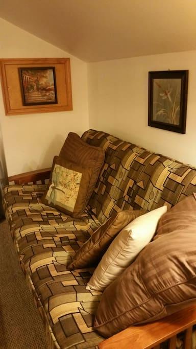 "Brand new 9"" futon mattress"