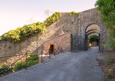 La casina sulle Mura (with garden and hot tub)