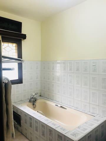 Room 1 Private bathroom