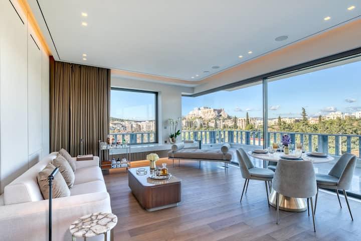 Junior Suite | Balcony & Acropolis view
