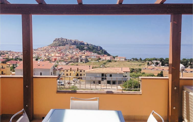 Holiday apartment with 1 bedroom on 40m² in Castelsardo -SS-