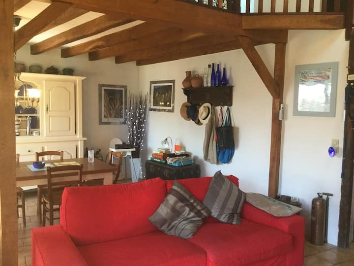 Tranquil village house close to Carcassonne for 6