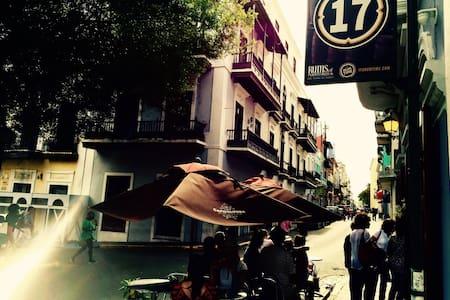 Historic Balcony Apt Plaza Colón - Apartamento