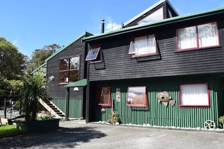 Whare Rakau - Kereru Room - Franz Josef Glacier - Haus