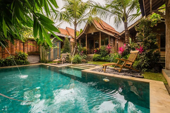 Suite amazing villa w/pool close to ubud Palace