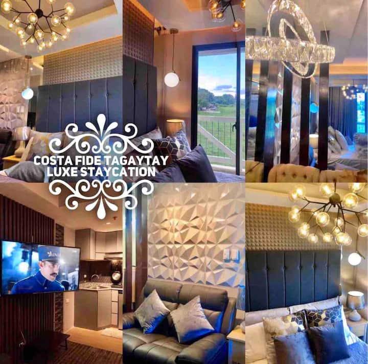 New! Costa Fide Tagaytay •NETFLIX + 20MBPS WIFI•