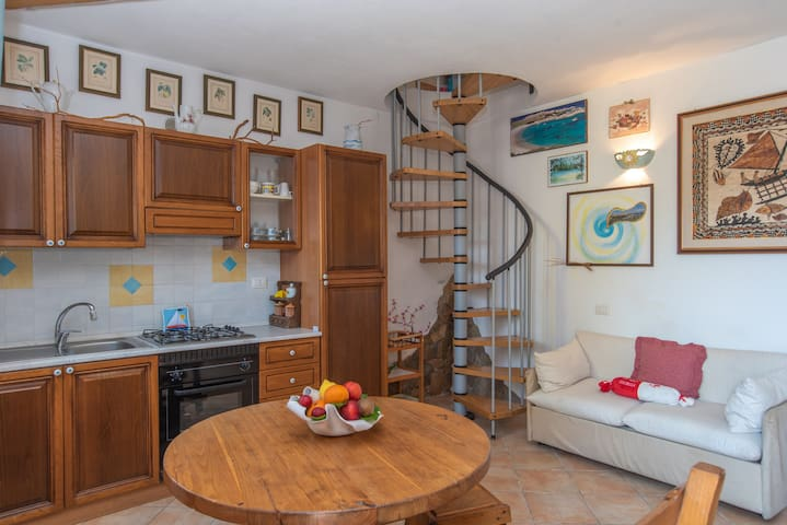 Centrally Located Holiday Home with Balcony and just a Few Meters from the Beach; Pets Allowed