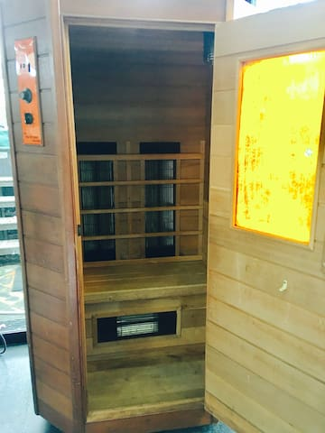 Gym Pic #6 : Sauna for 2 person.