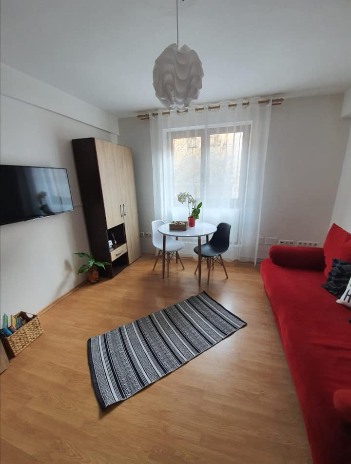 Apartment with 2 rooms in the central of the city