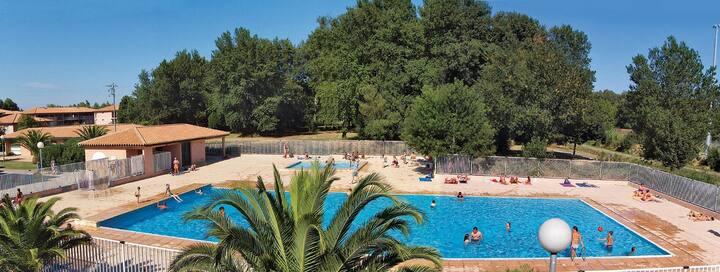 Vacances proche de la Plage! Appartement avec accès piscine
