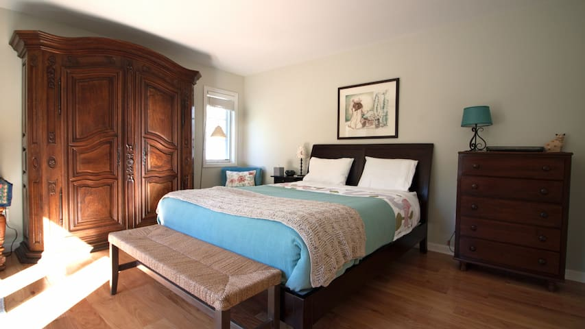 Sweet Master BD Suite with Private BA in Palo Alto - Palo Alto - Casa