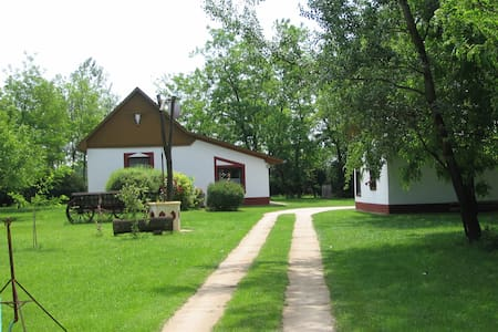 """Typisch ungarischer Bauernhof """"Tanya"""" - Kiskunmajsa - Ev"""