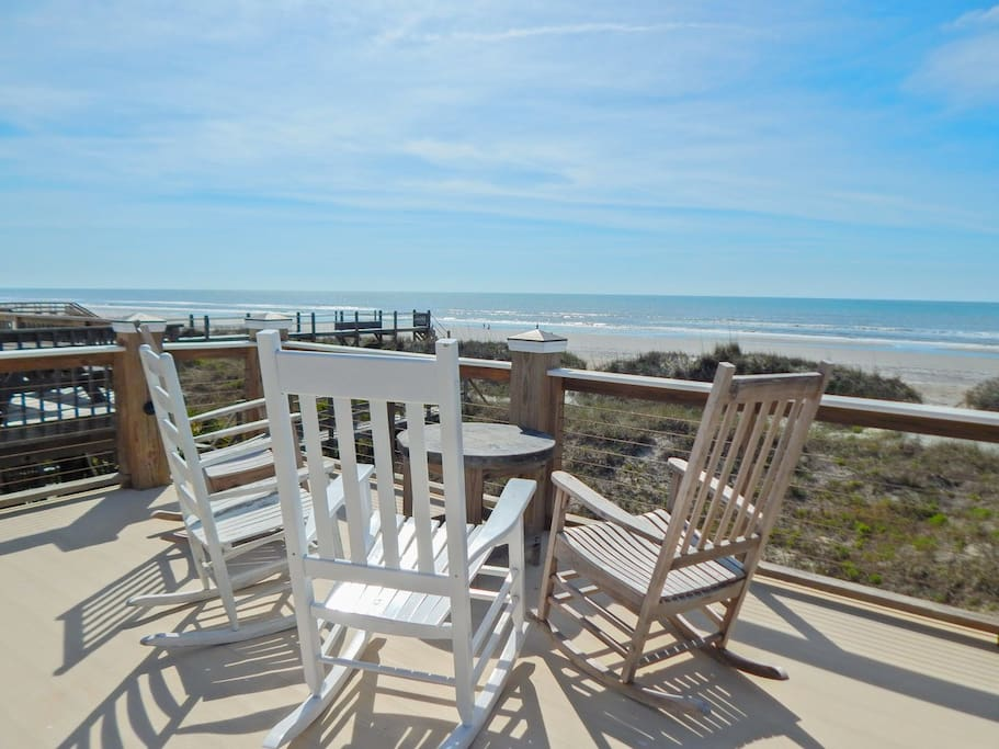 Sit Back and Relax on Private Deck