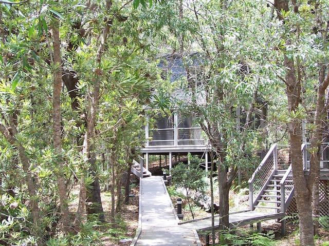 Peaceful South Straddie hideaway - QLD - Cabin