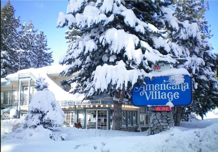 Studio Americana Village close to Heavenly Gondola