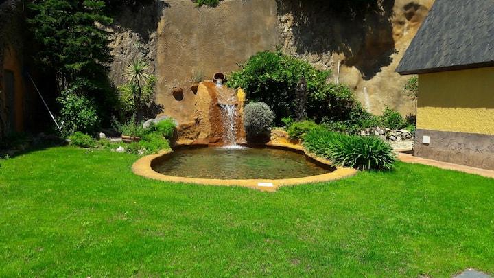Casa rural con total relax y magnífica piscina