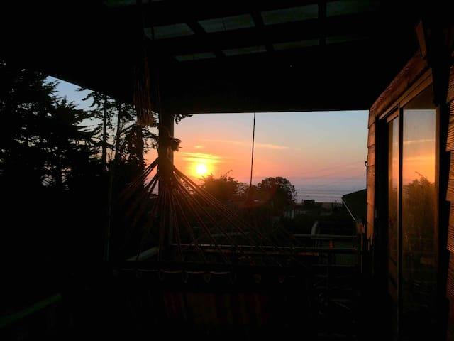 Sunset desde la terraza