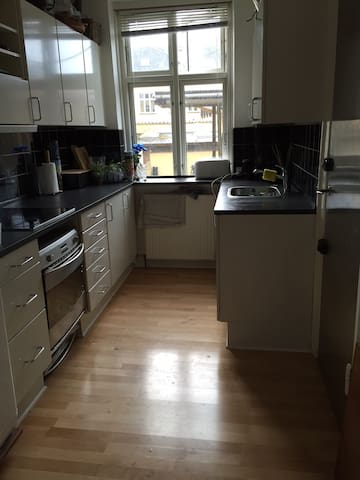 two bed appartment close to Cph center