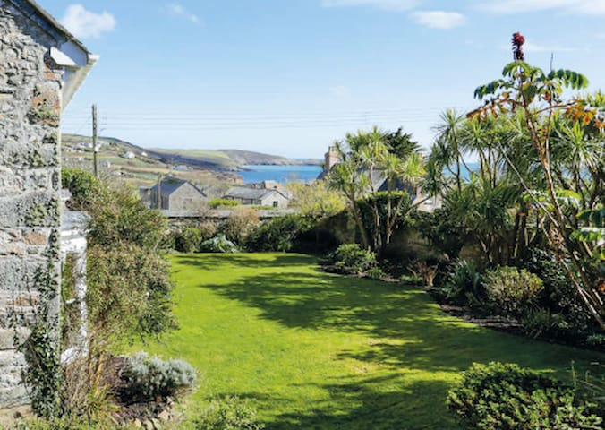 Front Garden with view of the sea