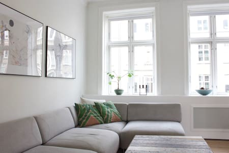 Bright and stylish Copenhagen apartment. - Frederiksberg - Apartment