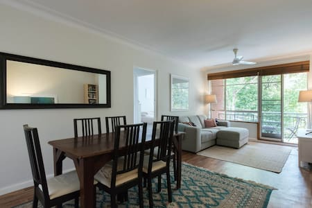 Breezy parkside apartment close to the city - Drummoyne - Apartemen