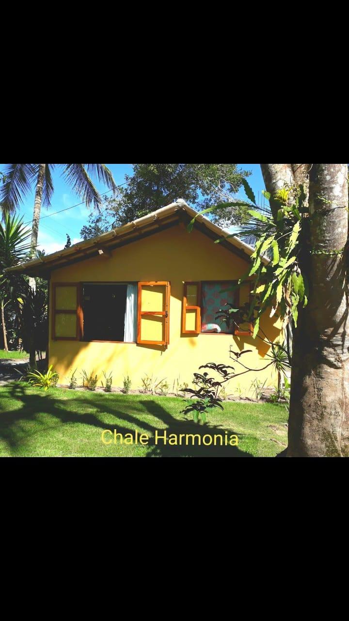 Chalé Harmonia:charme e conforto pertinho da praia