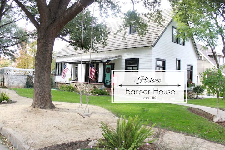 Historic Barber House!
