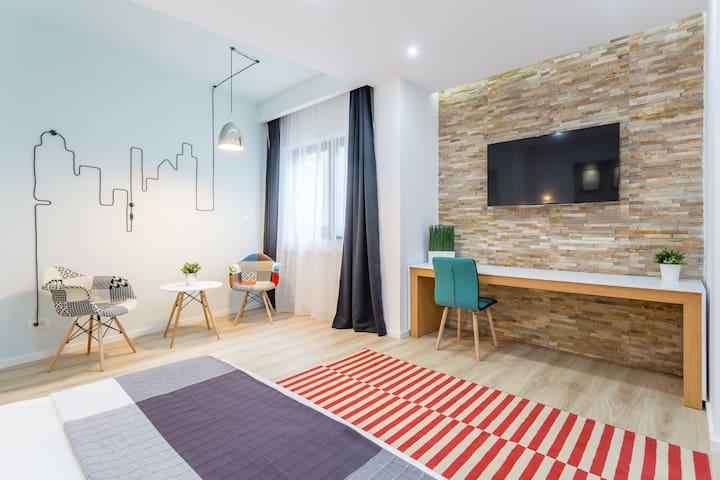 Sky Studio - Ultracentral - București - Lägenhet