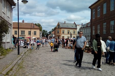 Happy time travel - Old Town - Fredrikstad