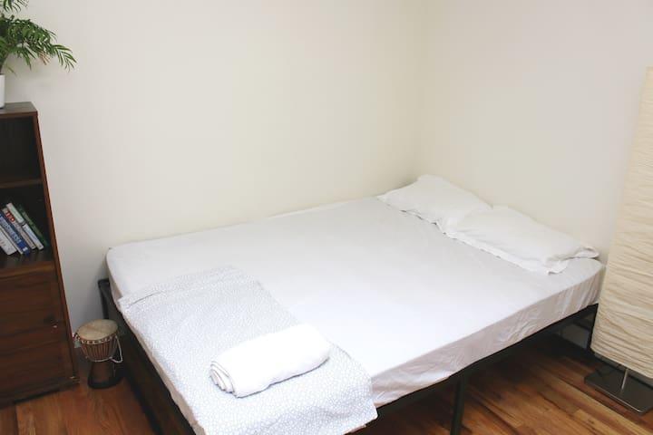 Cozy room in Bushwick, Brooklyn, 2 min from train