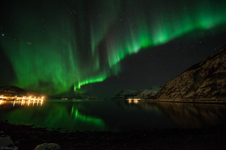 Northern lights at your doorstep.
