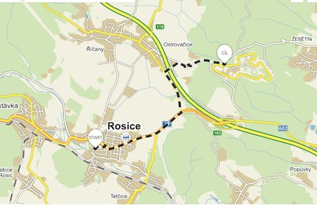 Transport service to Moto GP, 8 min to circle - Rosice - House