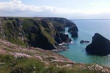 Stunning Cornish coast