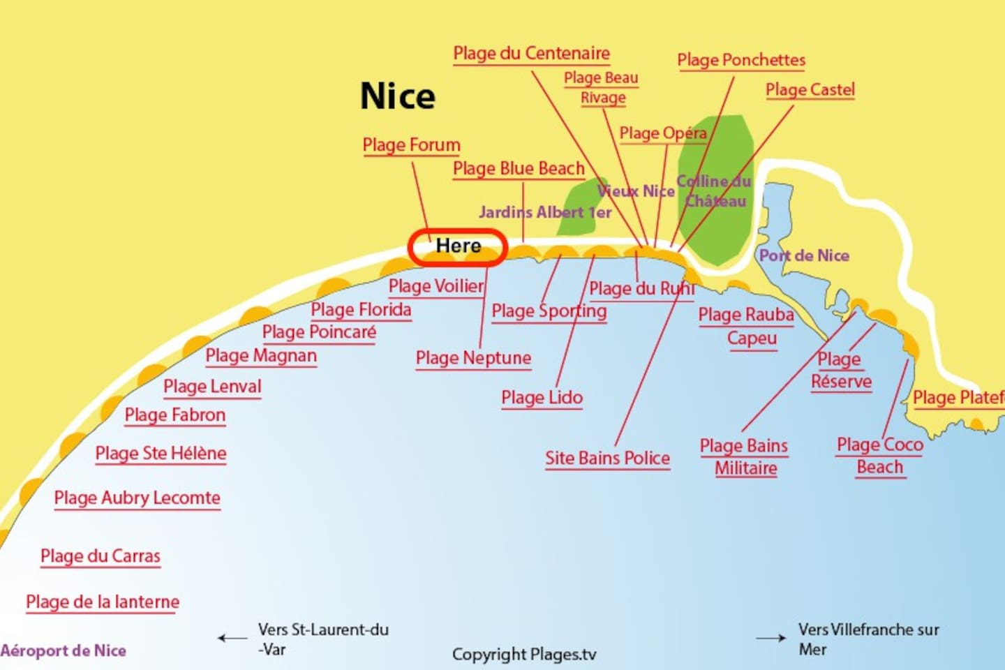 nice beach promenade des anglais apartments for rent in nice