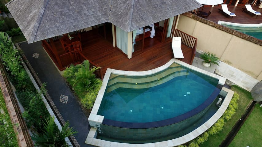 one of villa with pool