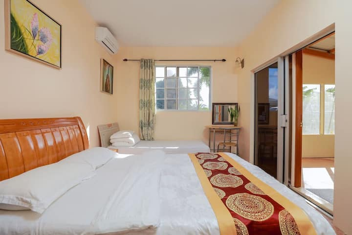 Love Legend 双1.5米大床一室一厅一卫一厨家庭套房,定三天以上免费接机