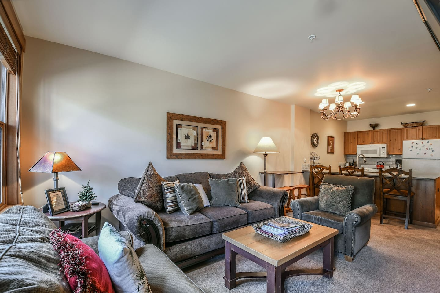 Living room with plenty of seating for everyone